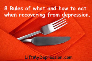 Food and depression: 8 rules